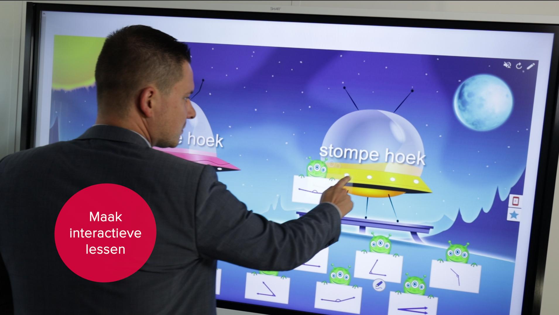 SMART Board MX interactief touchscherm