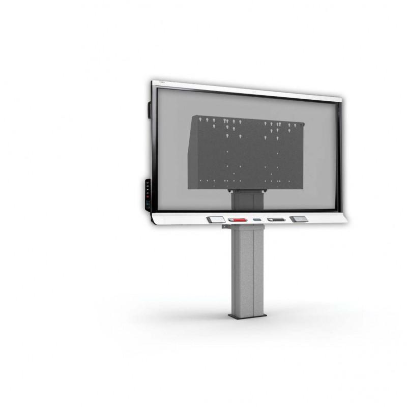 SMART Board Wand / Vloerlift - voorbeeld met SMART Board 6000S