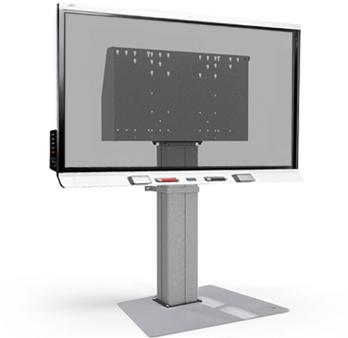 SMART Board 6000S - vloerkolom met vloerplaat