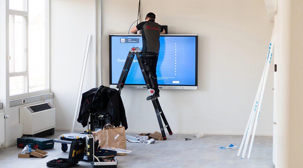 SMART Board installeren