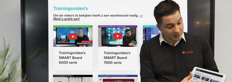 Videoportal SMART Board trainingsvideo's
