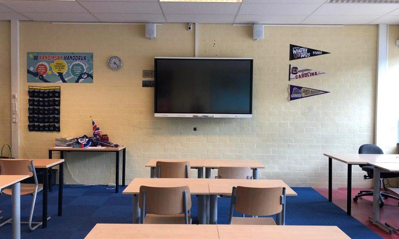 SMART Board MX klaslokaal interactief display